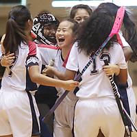 2016 National A Div Girls Floorball Final: YJC vs MJC