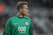 Anders Lindegaard (Preston North End) during the EFL Cup 4th round match between Newcastle United and Preston North End at St. James's Park, Newcastle, England on 25 October 2016. Photo by Mark P Doherty.