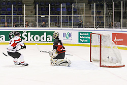 22.04.2010, Eishalle, IJssportcentrum, Tilburg, NED, IIHF Division I WM, Gruppe A, Österreich vs Japan im Bild Roland Kaspitz scores 1-3 for Austria, EXPA Pictures © 2010, PhotoCredit: EXPA/ Fintan Planting