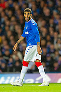 Connor Goldson (#6) of Rangers FC during the Europa League Play Off leg 2 of 2 match between Rangers FC and Legia Warsaw at Ibrox Stadium, Glasgow, Scotland on 29 August 2019.