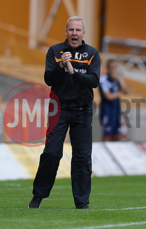 Wolverhampton's Manger Kenny Jackett  - Photo mandatory by-line: Alex James/JMP - Tel: Mobile: 07966 386802 2/08/2014 - SPORT - FOOTBALL -  Wolverhampton - Molineux Stadium  -   Wolverhampton vs  Celta Vigo - preseason