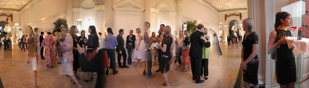 Michael Portillo, A.A. Gill and Nicola Fornby amongst others at the Tatler/ Cartier  17 July 2002. 100 Most invited party. Kensington Palace. © Copyright Photograph by Dafydd Jones 66 Stockwell Park Rd. London SW9 0DA Tel 020 7733 0108 www.dafjones.com
