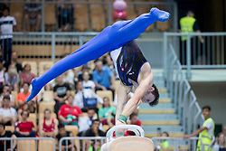 Slavomir Michank of Slovakia at Pommel Horse during Finals of Artistic Gymnastics FIG World Challenge Koper 2018, on June 2, 2018 in Arena Bonifika, Koper, Slovenia. Photo by Urban Urbanc / Sportida