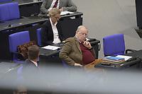 DEU, Deutschland, Germany, Berlin, 13.05.2020: AfD-Fraktionschef Alexander Gauland bei einer Plenarsitzung im Deutschen Bundestag. In der heutigen Fragestunde und Regierungsbefragung beantwort die Kanzlerin Fragen der Abgeordneten.