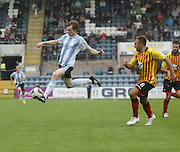 Flying high - Dundee's Craig Wighton - Dundee v Partick Thistle, SPFL Premiership at Dens Park<br /> <br />  - &copy; David Young - www.davidyoungphoto.co.uk - email: davidyoungphoto@gmail.com