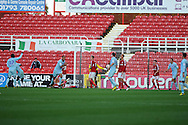 Coventry city's David McGoldrick (31 3rd left) celebrates after he scores his sides 2nd goal.  NPower league one, Swindon Town v Coventry city at the County Ground in Swindon on Saturday 13th October 2012.  pic by  Andrew Orchard, Andrew Orchard sports photography,