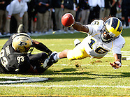 NCAA Football - Purdue Boilermakers vs Michigan Wolverines - West Lafayette, IN