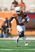 AUSTIN, TX - SEPTEMBER 26:  DeAndre McNeal #6 of the Texas Longhorns breaks free against the Oklahoma State Cowboys on September 26, 2015 at Darrell K Royal-Texas Memorial Stadium in Austin, Texas.  (Photo by Cooper Neill/Getty Images) *** Local Caption *** DeAndre McNeal