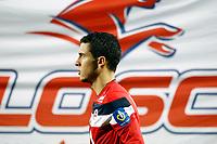 FOOTBALL - FRENCH CHAMPIONSHIP 2011/2012 - L1 - LILLE OSC v OLYMPIQUE LYONNAIS - 23/10/2011 - PHOTO CHRISTOPHE ELISE / DPPI - EDEN HAZARD (LOSC)