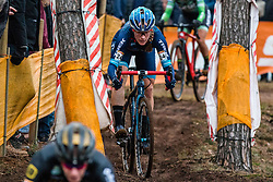 COMPTON Katherine (USA) during Women Elite race, 2019 UCI Cyclo-cross World Cup Heusden-Zolder, Belgium, 26 December 2019. <br /> <br /> Photo by Pim Nijland / PelotonPhotos.com <br /> <br /> All photos usage must carry mandatory copyright credit (Peloton Photos | Pim Nijland)