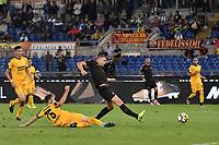Gol Edin Dzeko Roma 3-0 Goal celebration <br /> Roma 16-09-2017 Stadio Olimpico Calcio Serie A 2017/2018 AS Roma - Verona Foto Andrea Staccioli / Insidefoto