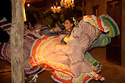 Mexican dancing, Hotel Torres Del Fuerte, El Fuerte, Sinaloa, Mexico