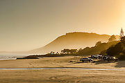 dawn Ahipara Northland, New Zealand surf beach