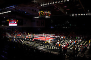 A view of the ring at O'Reilly Family Event Center for Fight Night Returns featuring Kimbo Slice on March 24, 2012 in Springfield, Missouri. (David Welker / TurfImages.com)