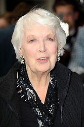 Image ©Licensed to i-Images Picture Agency. 08/07/2014. London, United Kingdom. June Whitfield during the press night for 'The Curious Incident Of The Dog In The Night-Time' at Gielgud Theatre. Picture by Chris Joseph / i-Images