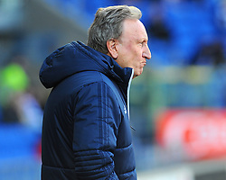 Cardiff City manager Neil Warnock looks on - Mandatory by-line: Nizaam Jones/JMP - 17/02/2018 -  FOOTBALL - Cardiff City Stadium - Cardiff, Wales -  Cardiff City v Middlesbrough - Sky Bet Championship