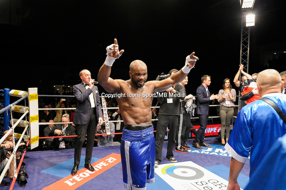 Jean Marc Mormeck - 05.12.2014 - Boxe - Lourds Legers - Issy les Moulineaux<br />