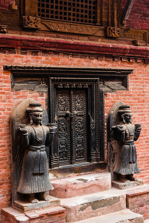 Palace of 55 Windows, Durbar Square, Bhaktapur, Kathmandu Valley, Nepal.