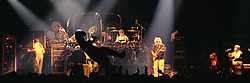 """Inflatable Dino makes the rounds at The Grateful Dead Live, Hampton Coliseum 8 October 1989. This Panoramic View is Available in 2 sizes: 10x30"""" and 20x60"""", custom signed limited edition prints."""