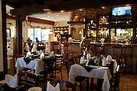 View of interior of Restaurant.
