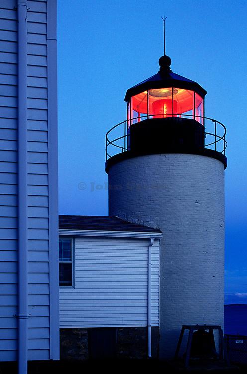 Bass Harbor Lighthouse, Mt Desert Island, Maine