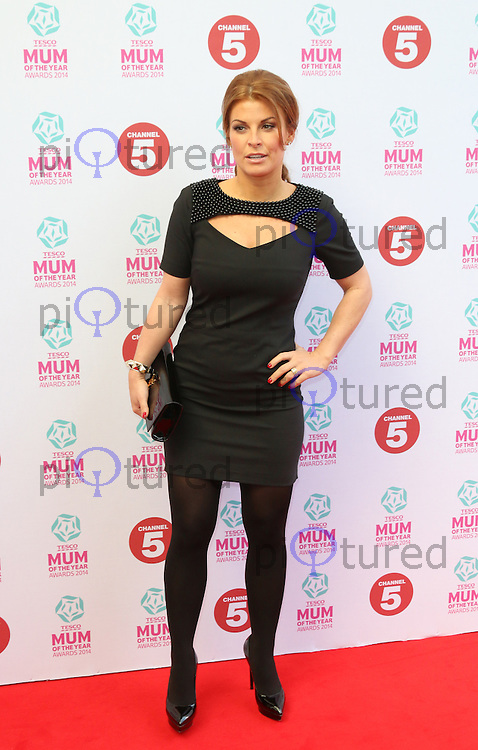Coleen Rooney, Tesco Mum of the Year Awards, The Savoy Hotel, London UK, 23 March 2014, Photo by Richard Goldschmidt