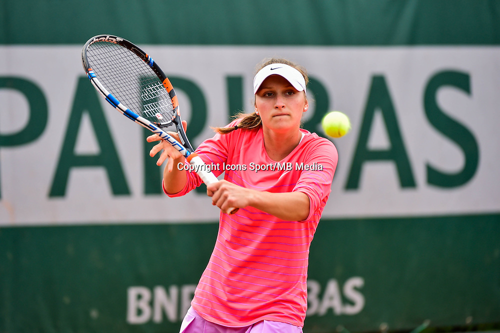Marketa VONDROUSOVA - 02.06.2015 - Jour 10 -Roland Garros 2015<br /> Photo : David Winter / Icon Sport
