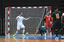 Jeremy Bukovec of Slovenia during futsal friendly match between National teams of Slovenia and Italy, on December 3, 2019 in Maribor, Slovenia. Photo by Milos Vujinovic / Sportida