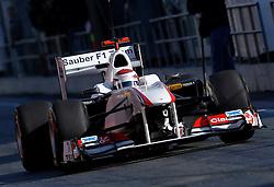 Motorsports / Formula 1: World Championship 2011, Testing in Barcelona, test, 16 Kamui Kobayashi (JPN, BMW Sauber F1 Team),