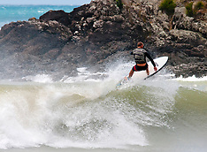 Northland-Surfers hit the waves after cyclone June passes
