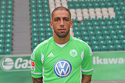 12.07.2011, Volkswagen Arena, Wolfsburg, GER, 1.FBL,  VfL Wolfsburg, Spielervorstellung im Bild  Ashkan Dejagah #24 Spieler beim VfL Wolfsburg in der Saison 2011/2012 // during the player praesentation in Wolfsburg 2011/07/12.     EXPA Pictures © 2011, PhotoCredit: EXPA/ nph/  Rust       ****** out of GER / CRO  / BEL ******