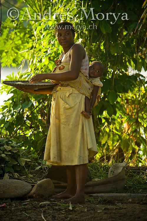 Malagasy famliy, Mananara, Madagascar Image by Andres Morya