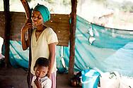 Botswana<br /> Mosikaro p&aring; 36 &aring;r og hendes dreng Segametse p&aring; 6 &aring;r
