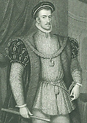 Thomas Howard, 4th Duke of Norfolk (1536-1572). A Roman Catholic, he plotted against Elizabeth I. Executed for treason.