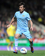 Picture by Andrew Timms/Focus Images Ltd. 07917 236526.14/04/12.David Silva of Manchester City during the Barclays Premier League match against Norwich City at Carrow Road stadium, Norwich.