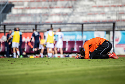 Curanovic Darjan of NK Triglav during Football match between NK Triglav Kranj and ND Gorica in 30th Round of Prva liga Telekom Slovenije 2018/19, on May 2nd, 2019, in Sports park Kranj, Slovenia. Photo by Grega Valancic / Sportida