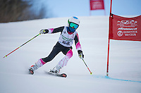 Gus Pitou U12 girls 2107 Gunstock Ski Club.  ©2017 Karen Bobotas Photographer