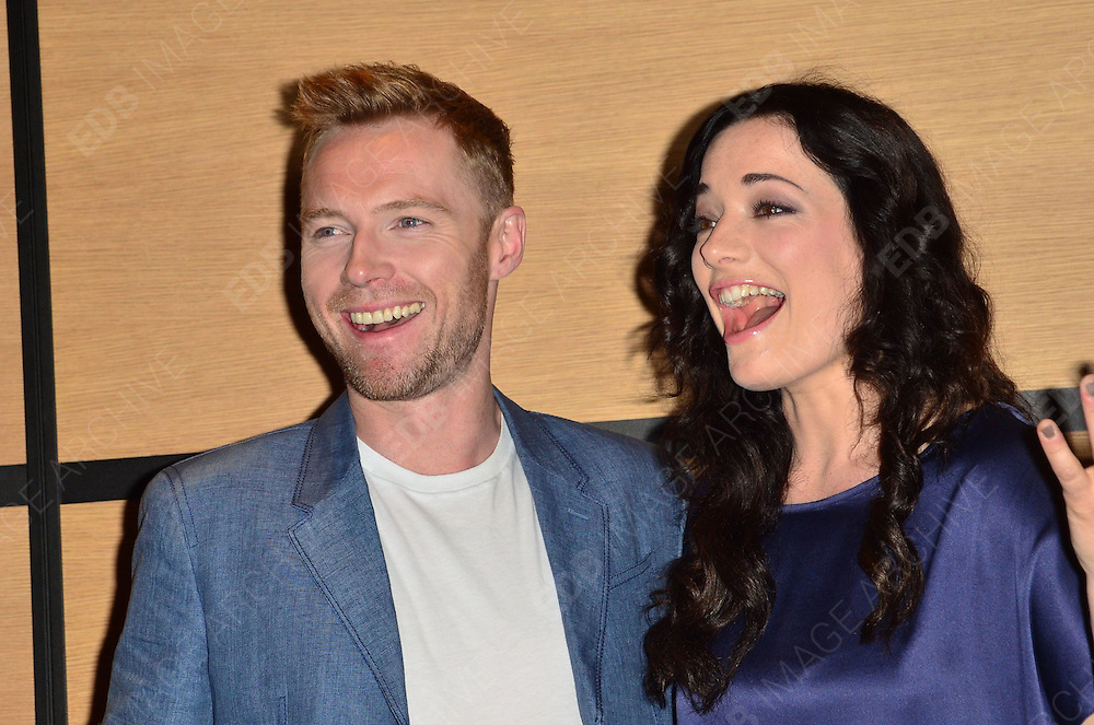 21.MAY.2012. CANNES<br /> <br /> RONAN KEATING AND LAURA MICHELLE KELLY AT THE GODDESS PHOTOCALL DURING THE 65TH CANNES FILM FESTIVAL, CANNES, FRANCE.<br /> <br /> BYLINE: EDBIMAGEARCHIVE.COM/JOE ALVAREZ<br /> <br /> *THIS IMAGE IS STRICTLY FOR UK NEWSPAPERS AND MAGAZINES ONLY*<br /> *FOR WORLD WIDE SALES AND WEB USE PLEASE CONTACT EDBIMAGEARCHIVE - 0208 954 5968*