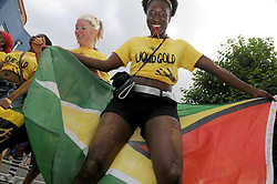 © under license to London News Pictures. 02/08/11. Police have made 97 arrests as part of a clampdown on potential troublemakers ahead of the Notting Hill carnival, Scotland Yard said on Monday..Operation Razorback aims to stop individuals and gangs who are suspected of planning criminal activity at the August Bank Holiday weekend event. (FILE PICTURE) Notting Hill Carnival 2010. Photo credit should read Stephen Simpson/LNP