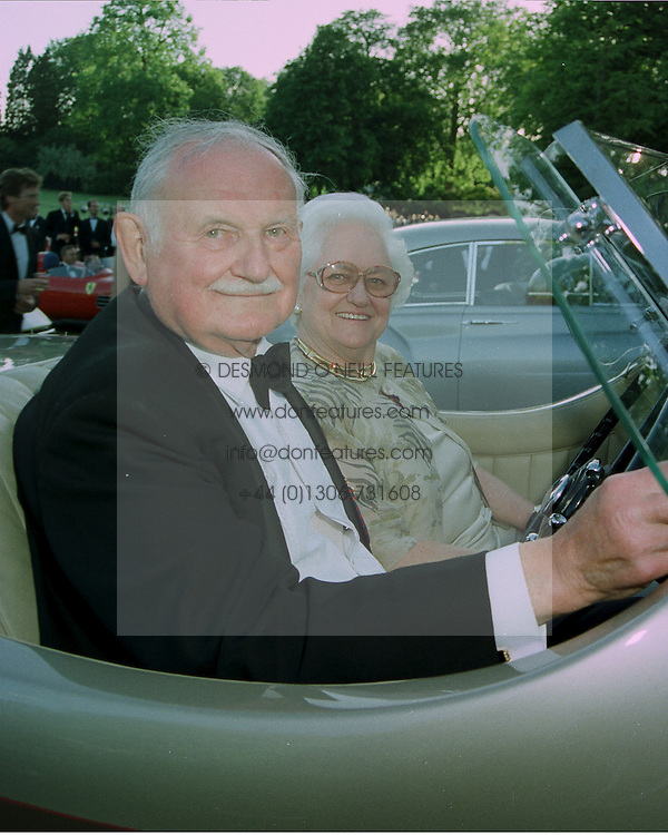 LORD & LADY STRATHCARRON at a reception in London on 7th June 1997.LZA 57