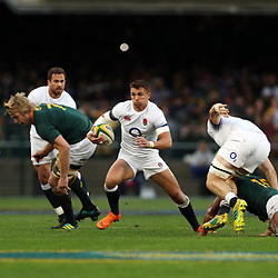 Henry Slade of England during the 2018 Castle Lager Incoming Series 3rd Test match between South Africa and England at Newlands Rugby Stadium,Cape Town,South Africa. 23,06,2018 Photo by (Steve Haag JMP)