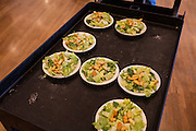 Ballard Elks Club. Salads served as part of a steak dinner organized to celebrate the winners of the College grant provided by the Elks.<br /> <br /> Matt Lutton / Boreal Collective for Buzzfeed