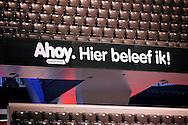 ROTTERDAM - De zaal van de Ahoy sportpaleis. FOTO LEVIN DEN BOER - PERSFOTO.NU