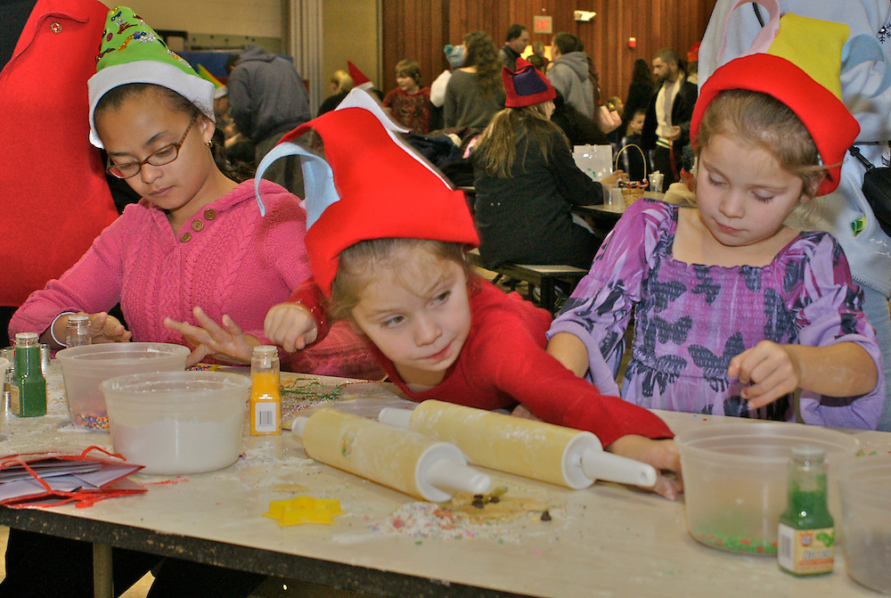 Children prepare cookies for Cape May art and cookie bake holiday event Children, Foods,