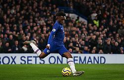 Callum Hudson-Odoi of Chelsea passes the ball - Mandatory by-line: Arron Gent/JMP - 21/01/2020 - FOOTBALL - Stamford Bridge - London, England - Chelsea v Arsenal - Premier League