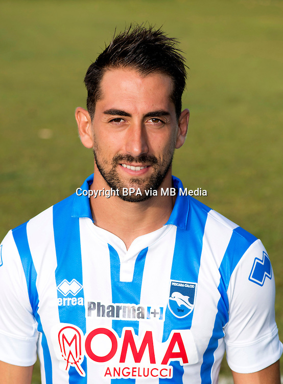 Italian League Serie B_2015-2016 / <br /> ( Delfino Pescara Calcio 1936 ) - <br /> Andrea Cocco