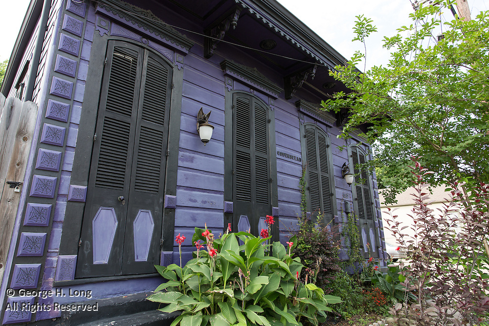 """""""Covenstead"""" at 1117 N. Robertson Street in the Treme neighborhood of New Orleans"""