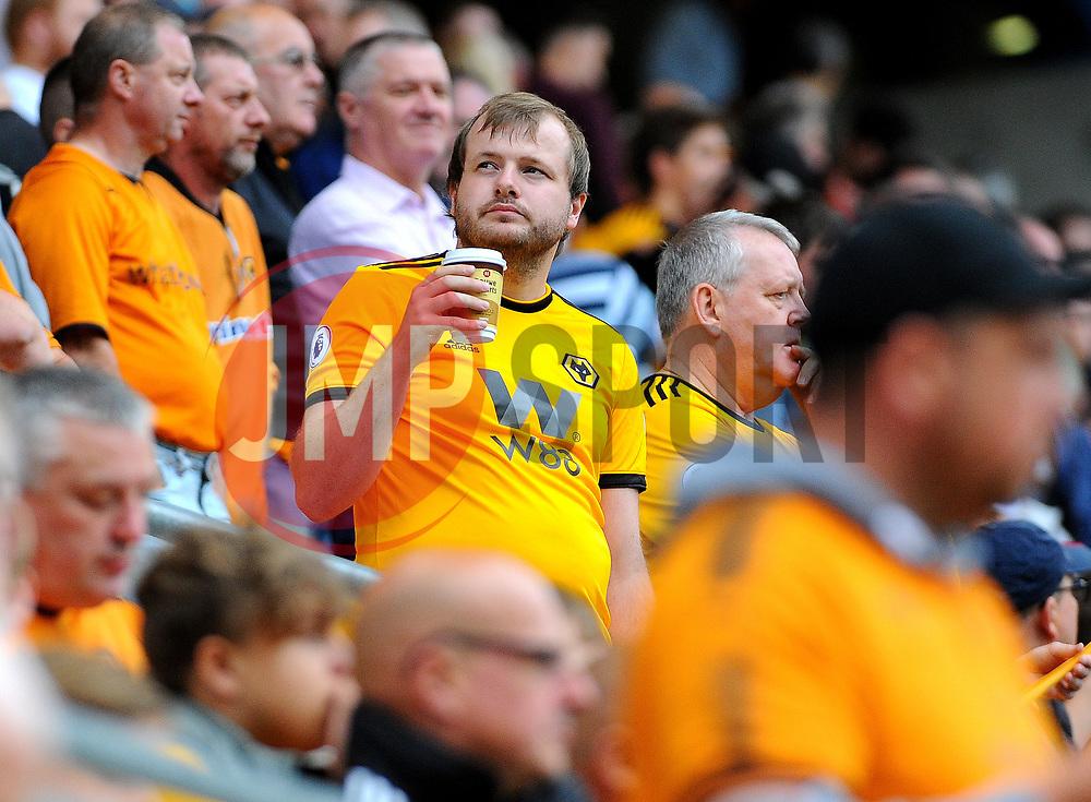Wolverhampton Wanderers fans wait for kick-off - Mandatory by-line: Nizaam Jones/JMP - 11/08/2018/ - FOOTBALL -Molineux  - Wolverhampton, England - Wolverhampton Wanderers v Everton - Premier League