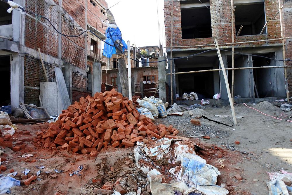 Building site near Kathmandu, Nepal