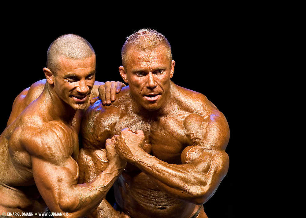 Bodybuilding competion in Sweden